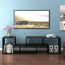 DEVAISE 3-in-1 Versatile TV Stand Bookcase Display Cabinet B