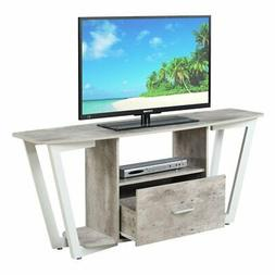Convenience Concepts 112085GYWF Graystone TV Stand Stone, 60