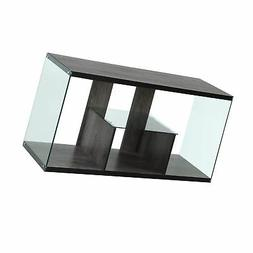 Convenience Concepts 131590WGY SoHo TV Stand, Weathered Gray