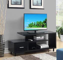Convenience Concepts 151750BL Seal II TV Stand, 60-Inch, Bla