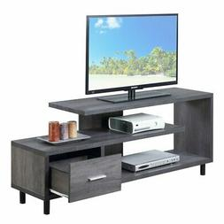 """Convenience Concepts 151750WGY Seal II TV Stand, 60"""", Weathe"""