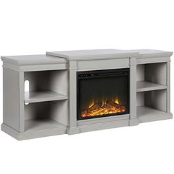 Ameriwood Home 1767296COM Manchester Fireplace TV Stand Not