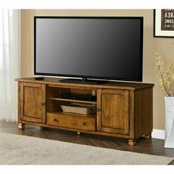 Ameriwood Home 1772096COM San Antonio Veneer Wood TV Stand,