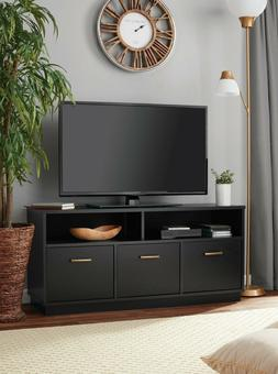 Mainstay 3-Door TV Stand Storage Cabinet Console for TVs up