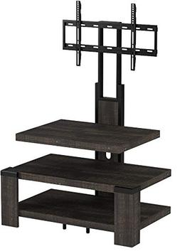 "Whalen 3 Shelf TV Stand with Mount for TV's up to 46"", Weath"
