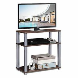 3-Tier TV Media Stand Component Console Multipurpose Shelf D