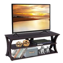 3-Tier TV Stand Entertainment Center Media Console Furniture