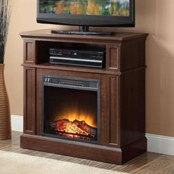 Mainstays 31' Media Fireplace For TVs Up To 42'