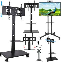 "32 42 55 65 70"" Floor Mobile TV Stand Stable Tabletop TV Mou"