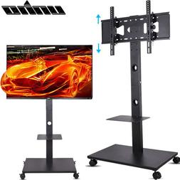 """32""""-70"""" TV Stand Mobile Wheeled Cart Mount for 4K UHD LED TV"""