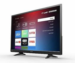 32 Inch 720p Smart Roku LED TV HD Wall Mountable Stand Remot