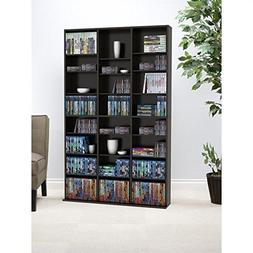 Atlantic Oskar Adjustable Media Wall-Unit - Holds 756 CDs, 3