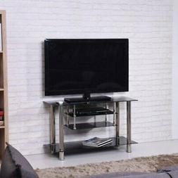 39 in tv stand silver 43
