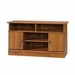Sauder 407432 Harvest Mill Panel Tv Stand, Abbey Oak®