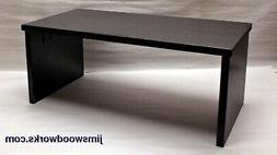 40L-13W-10H Black TV stand desk riser center speaker monitor