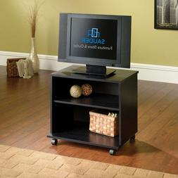 """SAUDER 411654 TV Cart W: 23.5"""" x D: 15.5"""" x H: 20.9"""" Black O"""