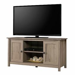 Sauder 417772 County Line Panel Tv Stand, Salt Oak®