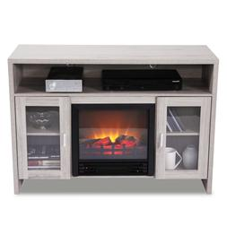 "42.5"" Large 1250W Room Adjustable Electric Fireplace TV stan"