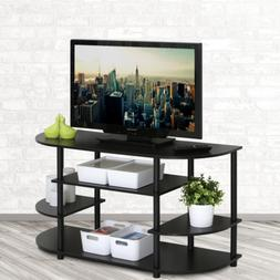 42 In. TV Entertainment Media Center Stand Fits TVs Up to 44