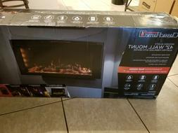 "classicflame 42"" infrared Quartz fireplace insert with safer"