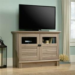 "42"" Media TV Stand 2-Door Storage Shelves Cottage Inspired E"