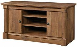 Sauder 420605 Palladia TV Stand For 50'', Vintage Oak Finish