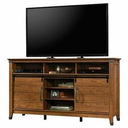 """Sauder 421953 Carson Forge Credenza, for Tvs Up to 60"""", Wash"""