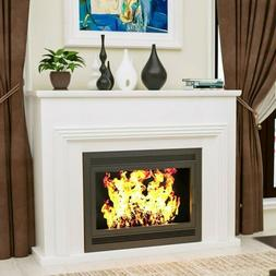 """43"""" Fireplace Mantel Surround TV Stand Unit Console Living R"""