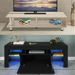 """45"""" High Gloss TV Stand Cabinet Console Unit Furniture Table"""