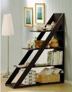 4ft Ladder Shelf Shelves For Living Room Display Case Booksh