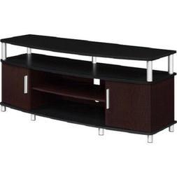 50 Corner TV Table Stand Media Console Shelf Drawer Storage