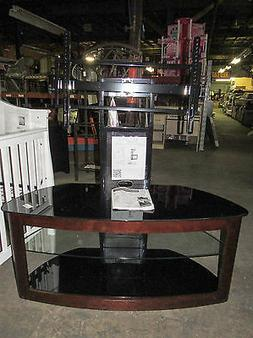 50 Flat Panel TV Stand with Mount in Espresso