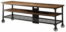 Homelegance 50990-T Two Shelves Cottage Style TV Stand with