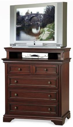 Home Styles 5537041 Lafayette Media Chest in Rich Cherry 553