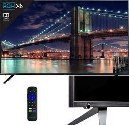 TCL 55R617 55-Inch 4K Ultra HD Roku Smart LED TV