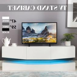 59''/47'' Floating LED TV Stand Wall Mount Console Furniture