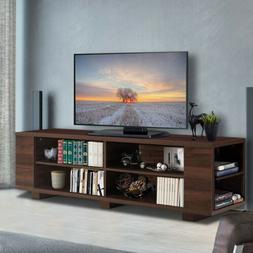"""59"""" L TV Stand Console Entertainment Center Media Wood Stora"""