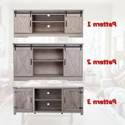 """59"""" Rustic Wooden TV Stand Console Media Center for TVs up t"""