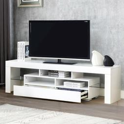 TV Stand Unit Cabinet Console Furniture Table W/2 Drawers 2-