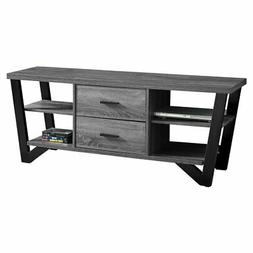 Monarch Specialties 60 in. TV Stand with 2 Storage Drawers