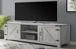 Walker Edison 65 Inches Wooden TV Stand Storage Console in S