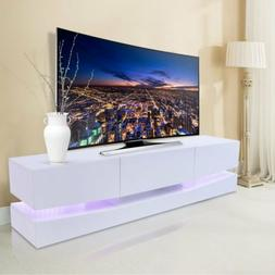 70 tv stand led lights wall mount