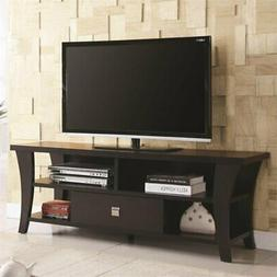Coaster Home Furnishings 700497 Tv Console Cappuccino NEW