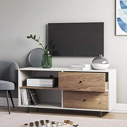 """Nathan James 79901 Tora 46"""" TV Stand Media Wooden Console Oa"""