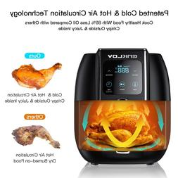 Enklov 8 in 1 Power Air Fryer Oven XL 5.5QT 1350W Precise Te