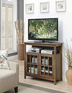 Convenience Concepts 8066070DFTW Big Sur TV Stand Highboy, D