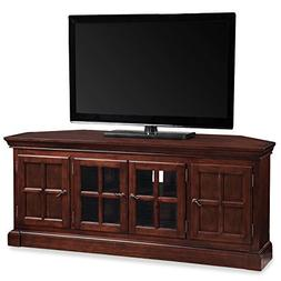 "Leick 81586 Bella Maison 56"" Corner TV Stand with Lever Hand"