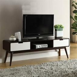 Acme Furniture Acme 91510 Christa TV Stand, Espresso & White