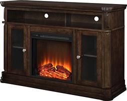 Ameriwood Home Brooklyn Electric Fireplace TV Console for TV