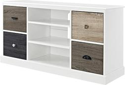 Ameriwood Home 1739096 Mercer TV Console with Multicolored D